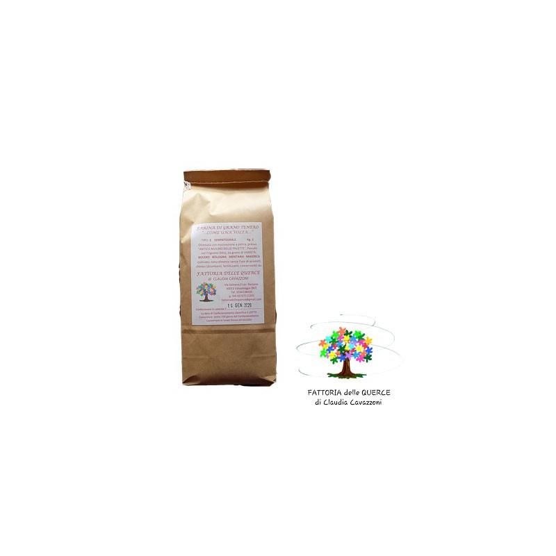 Farina Grano Tenero Semintegrale - 1